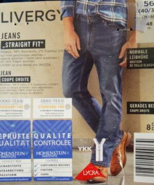 شلوار جین مردانه لیورجی